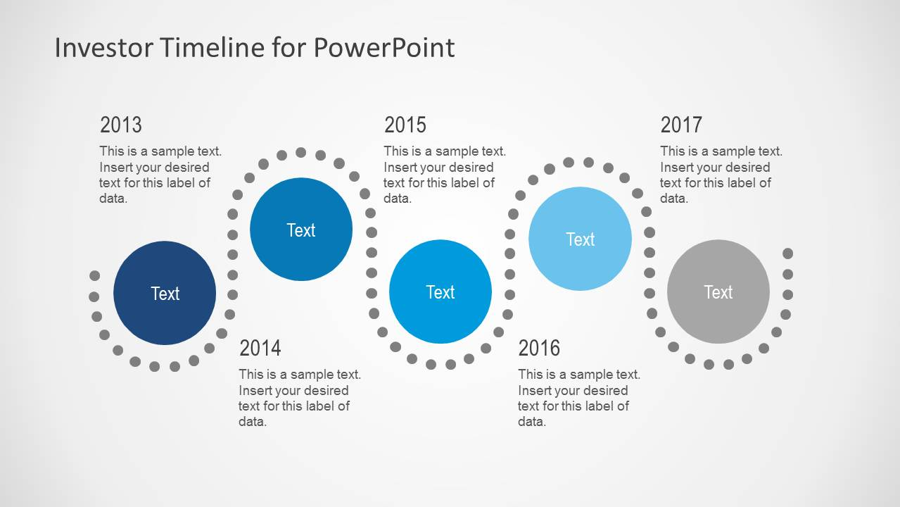 investor timeline slides for powerpoint - slidemodel, Presentation templates
