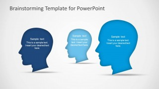 PowerPoint Scene of Three Head Silhouettes
