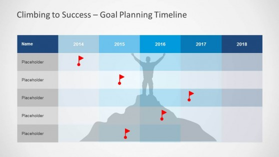 Project Planning Schedule & Table for PowerPoint