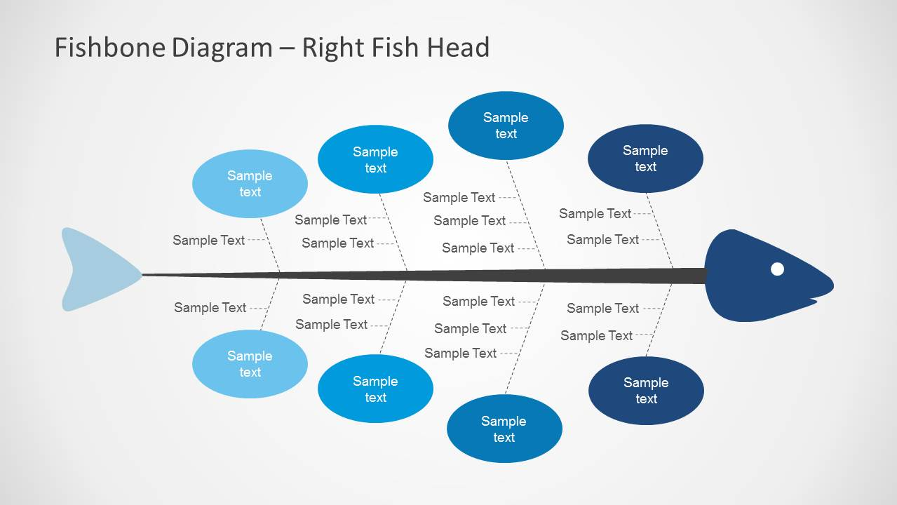 6153 01 fishbone diagram 6 slidemodel - Fishbone Diagram Template For Word