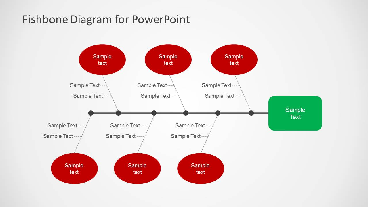 Simple Fishbone Diagram for PowerPoint - SlideModel