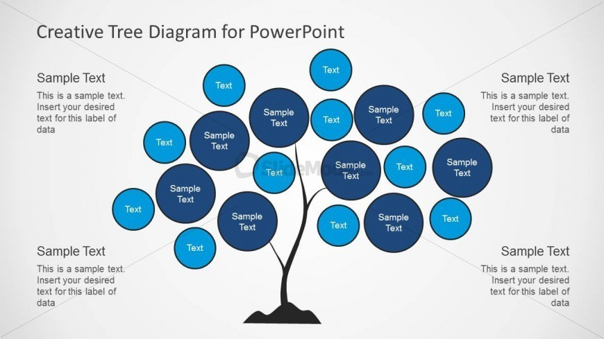 Tree Chart Diagram Design for PowerPoint - SlideModel
