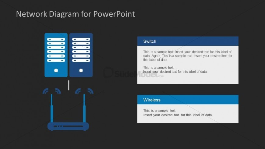 6177 02 Network Diagram Template Powerpoint 16 Slidemodel