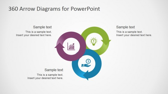 Three Connected 360 Loops for PowerPoint