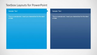 2 Simple Textbox Columns for PowerPoint