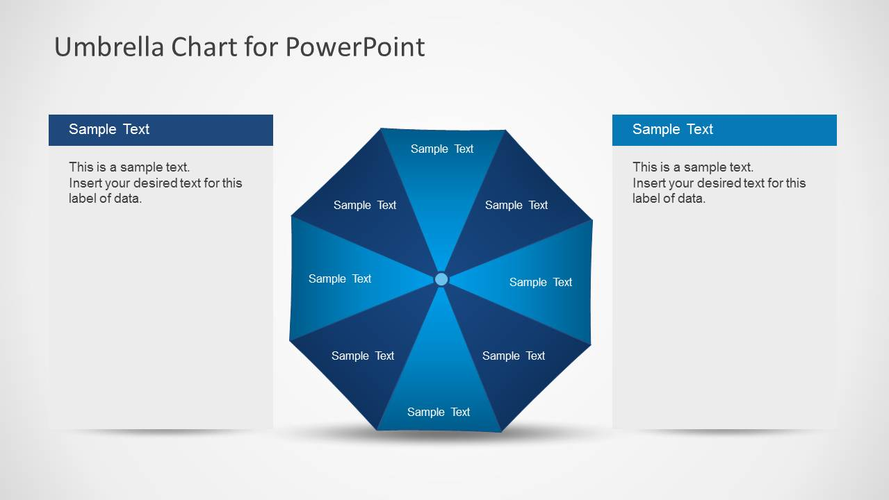 Umbrella chart diagram for powerpoint slidemodel umbrella chart diagram for powerpoint umbrella chart template for powerpoint toneelgroepblik Image collections