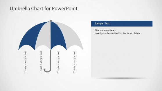 Umbrella powerpoint templates 6192 01 umbrella chart 4 toneelgroepblik Images