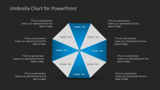 Umbrella Chart Template for PowerPoint