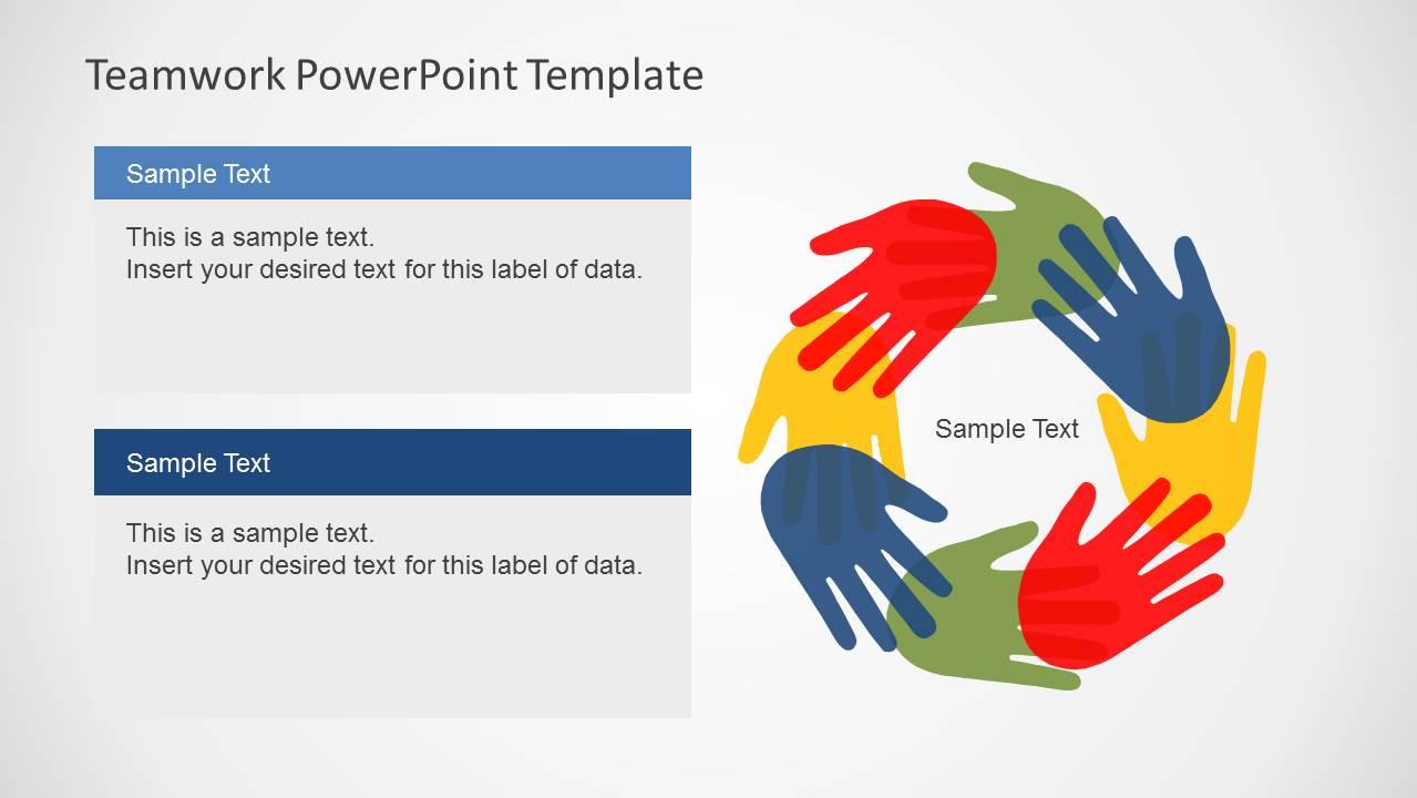 Teamwork powerpoint template slidemodel toneelgroepblik Images