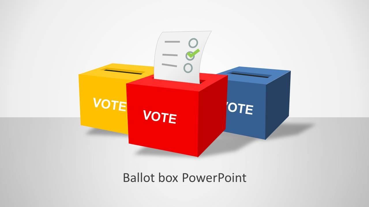 Ballot PowerPoint Template - SlideModel