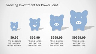 PowerPoint Chart Piggy Bank Clipart
