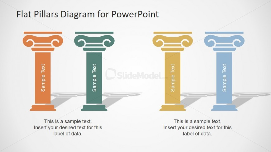 Creative powerpoint design for business ideas