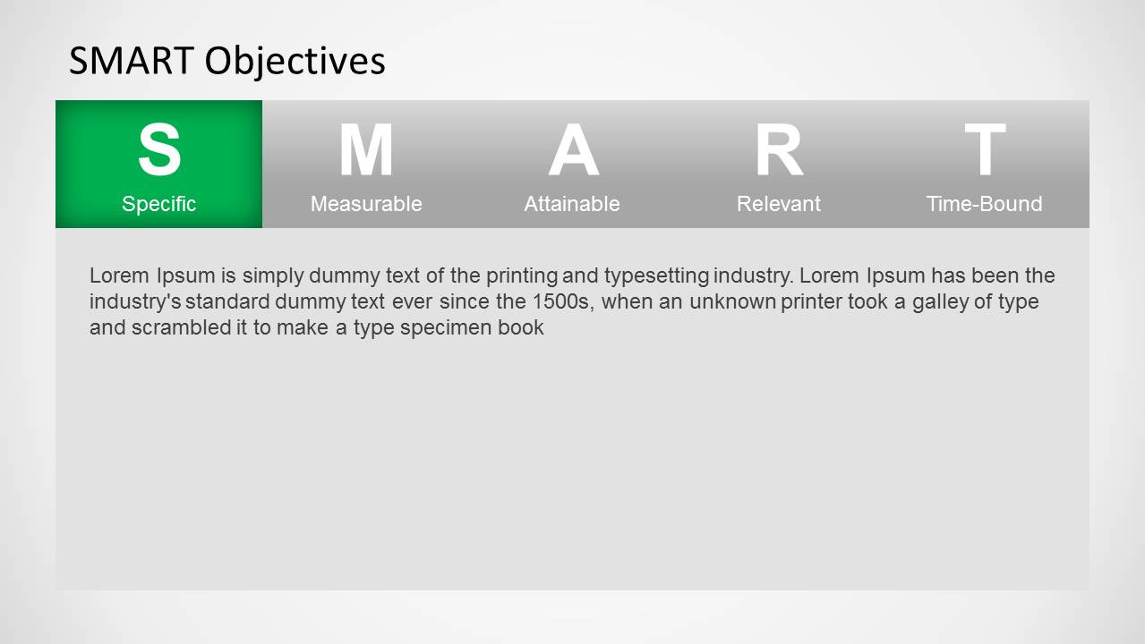 Smart objectives powerpoint template slidemodel smart objectives powerpoint template pronofoot35fo Image collections