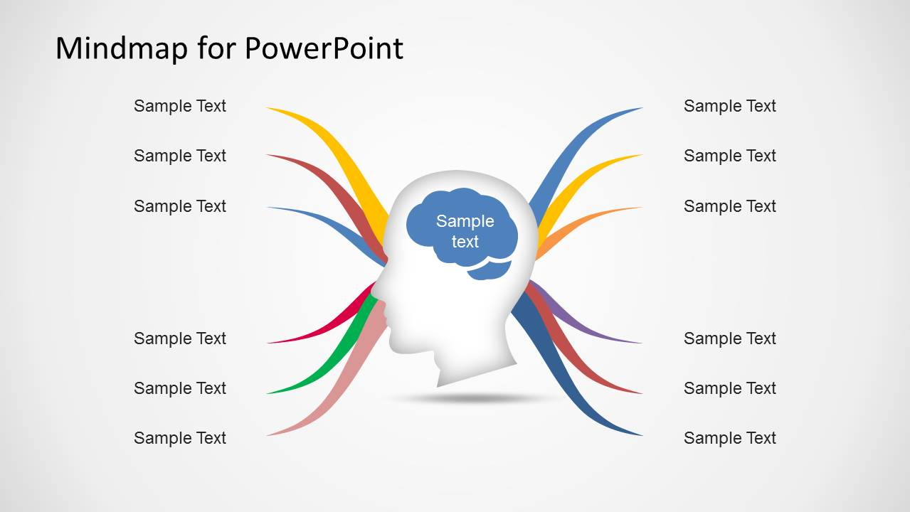 Mind Map Template Powerpoint Free Download