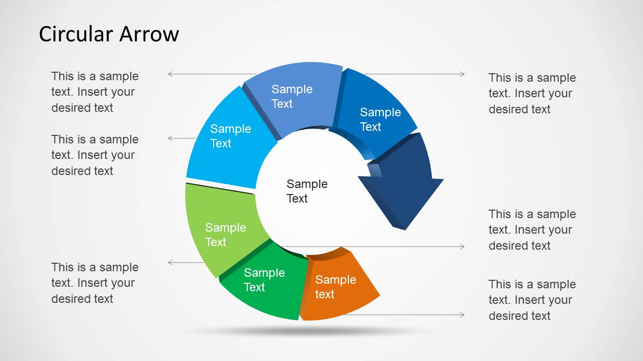 Circular Arrow Template for PowerPoint  SlideModel