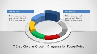 Circular Growth Diagram Design for PowerPoint