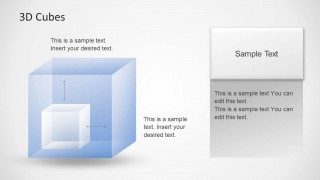 3D Cubes Design for PowerPoint