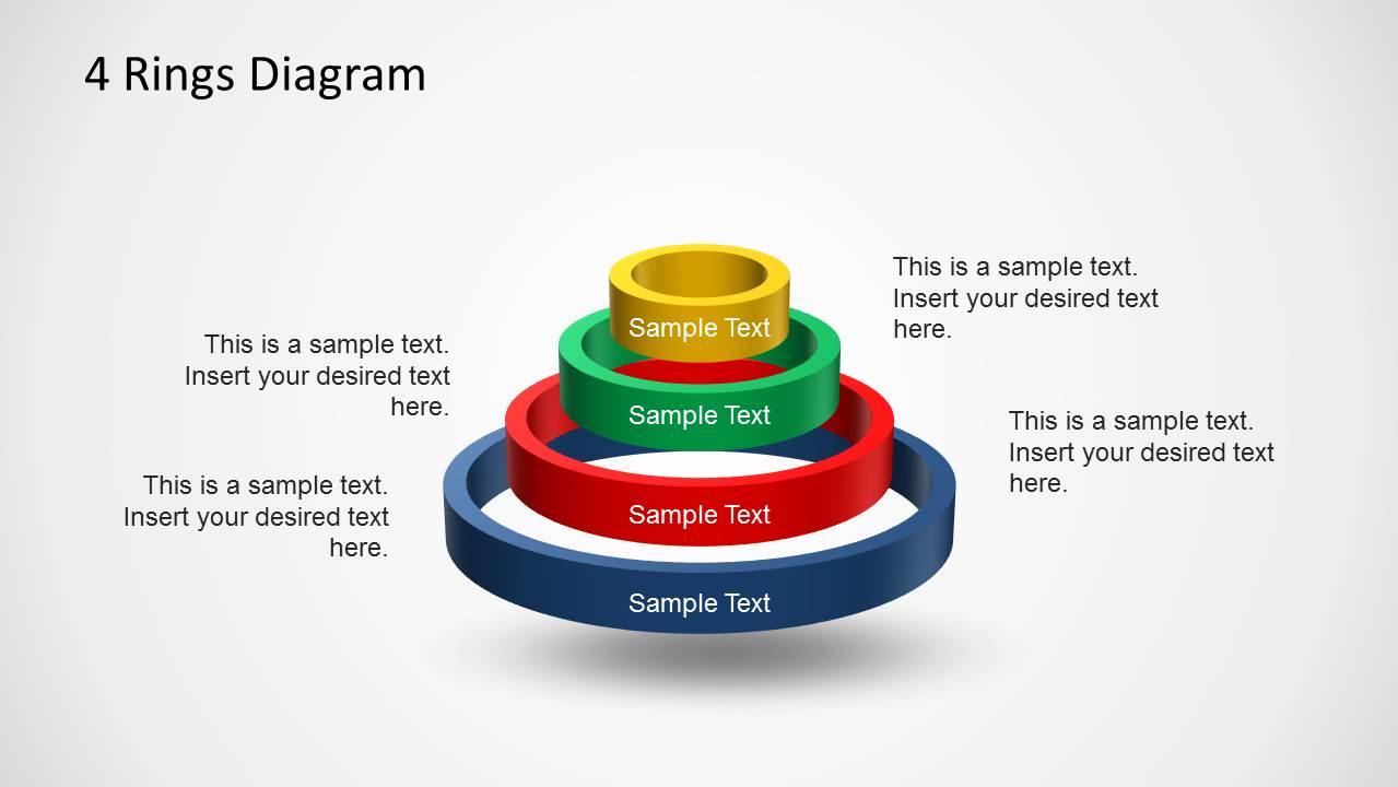 6262 01 ring diagram 1 4 rings diagram template for powerpoint slidemodel ring diagram at soozxer.org