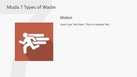 Motion Metaphor PowerPoint Clipart Muda Waste Type
