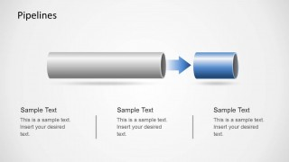 Creative Pipeline Process Slide for PowerPoint