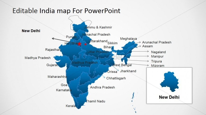 6277 01 india map 4 870x489 Top Result 60 New India Map Ppt Template Photography 2017 Gst3