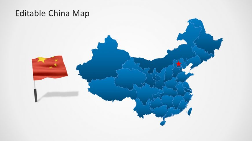 PowerPoint Popular Republic of China Map