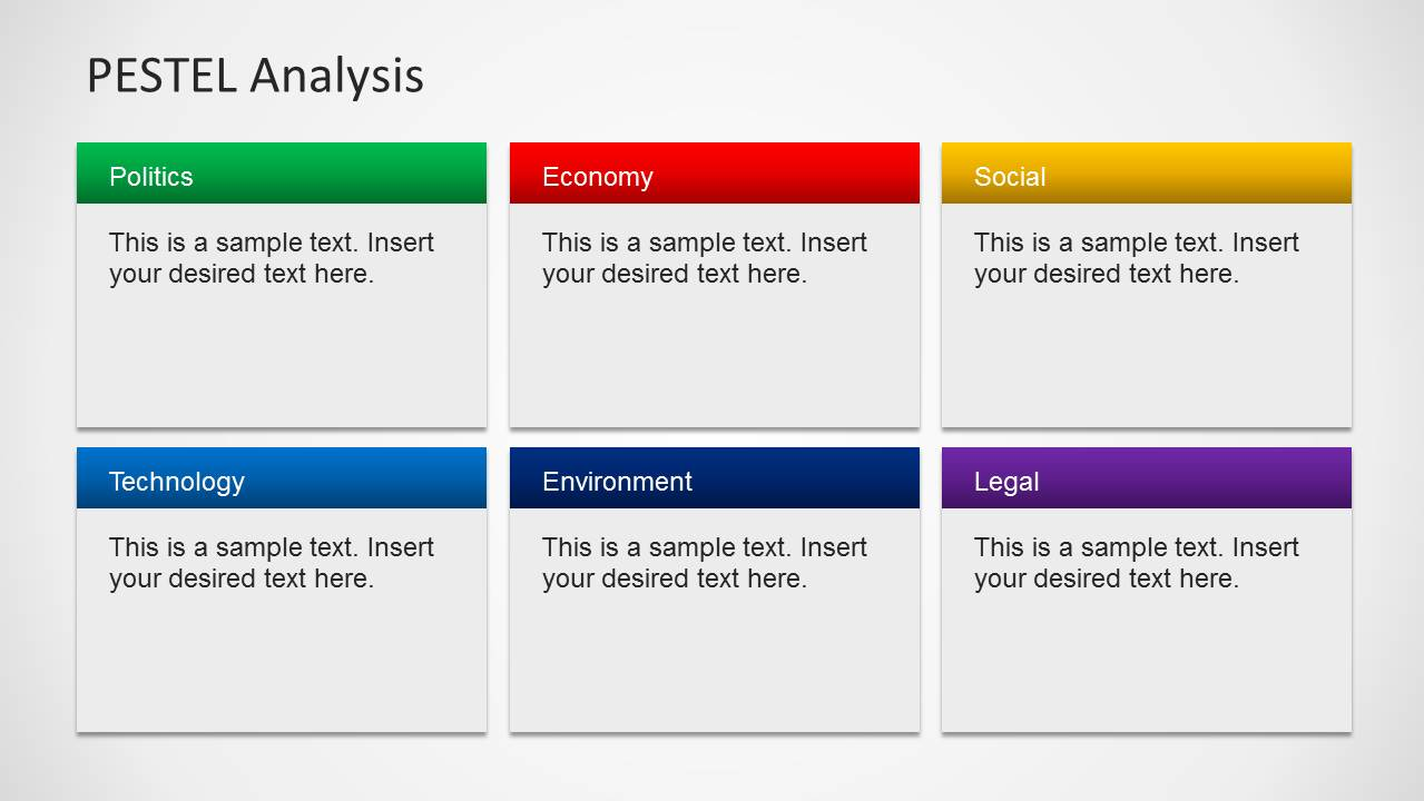 pestel analysis template word - pestel analysis powerpoint template slidemodel