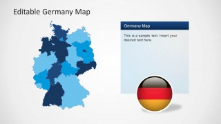PowerPoint Template of Germany Map