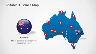 PowerPoint Map and Flag Clipart for PowerPoint
