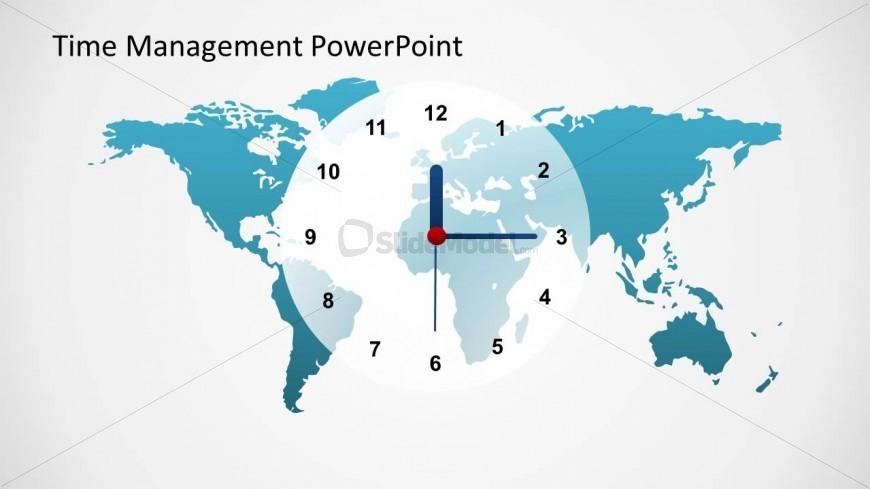 Time Management World Time Clock Slide