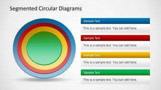 Diagram for PowerPoint with Colorful Circles