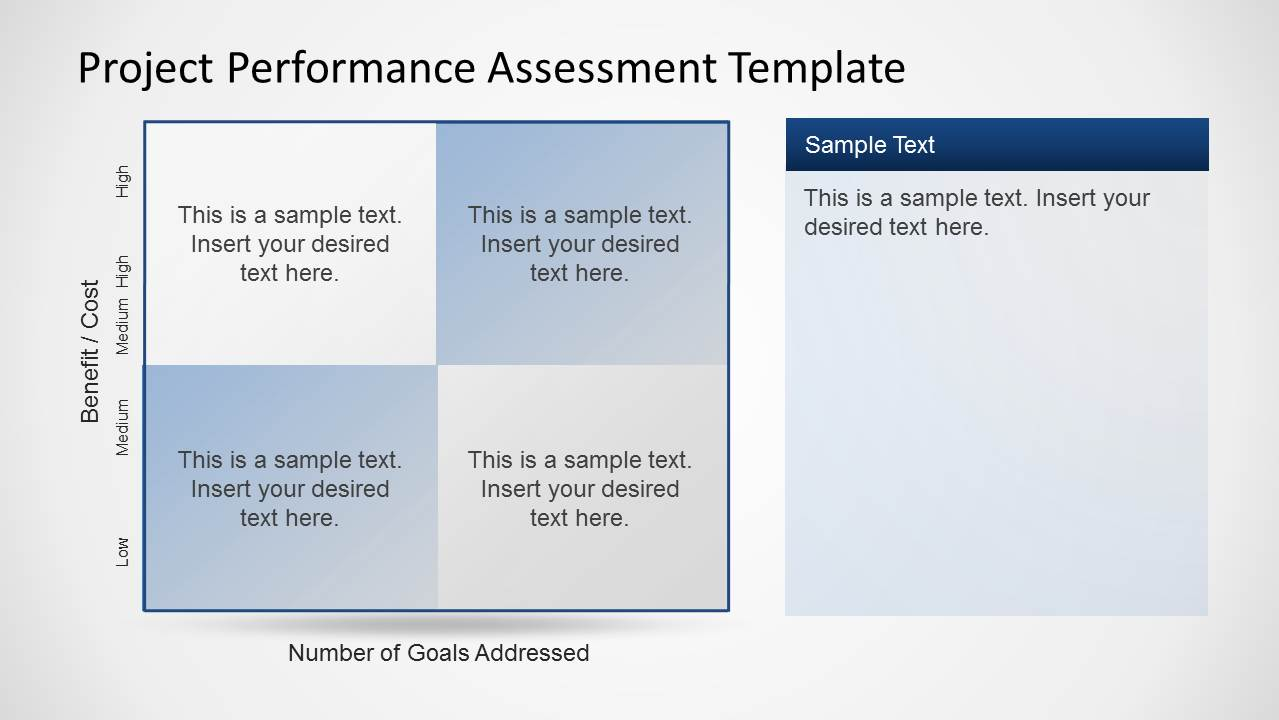 Project Essment Template | Project Performance Assessment Template For Powerpoint