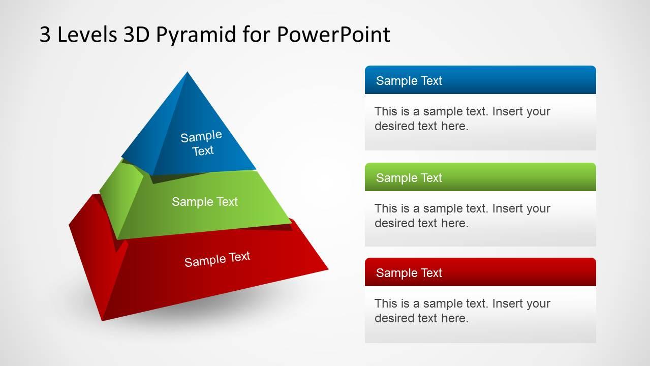 Simple Pyramid PowerPoint Tutorial