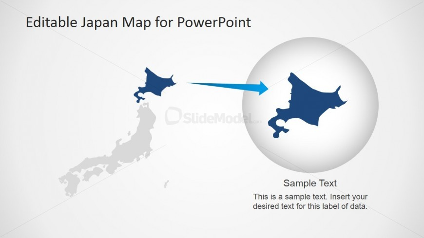 Japan Map PPT Template