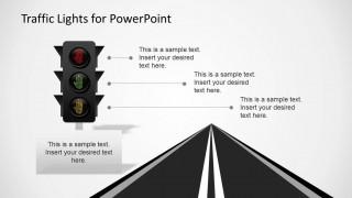traffic lights powerpoint template slidemodel