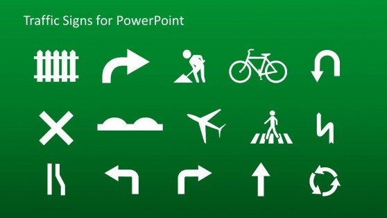 Traffic Sign Icons for PowerPoint