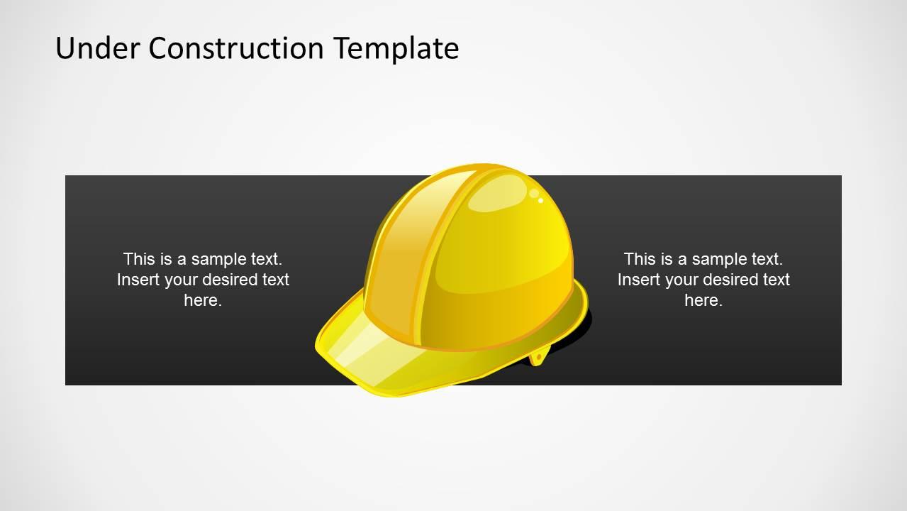 under construction powerpoint template