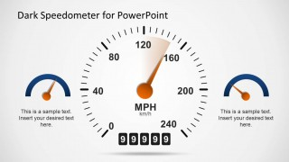Transparent Speedometer Design for PowerPoint