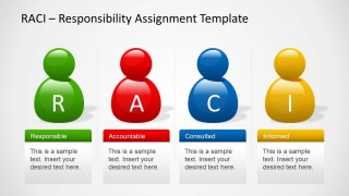 RACI Template for PowerPoint with Avatars