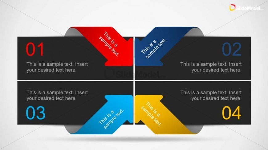 Creative Layout Design For Powerpoint With Arrows Slidemodel