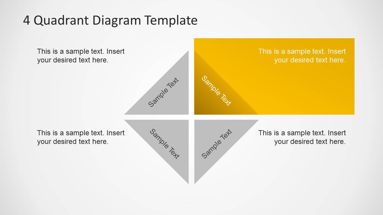 4 quadrants diagram template for powerpoint slidemodel 4 quadrants diagram template for powerpoint toneelgroepblik Images