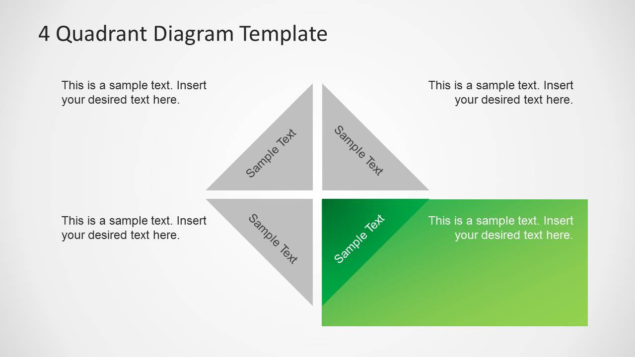 4 quadrants diagram template for powerpoint slidemodel 4 quadrants diagram template for powerpoint toneelgroepblik Gallery