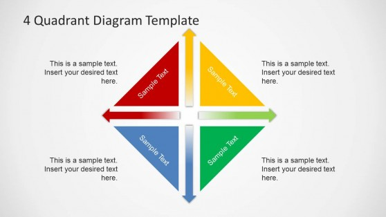 Rhombus powerpoint templates 6342 04 4 quadrant diagram template 6 toneelgroepblik Images