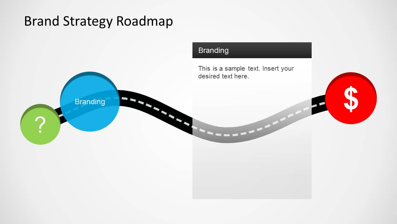 Brand Strategy Roadmap Template For PowerPoint SlideModel - Strategy roadmap template ppt