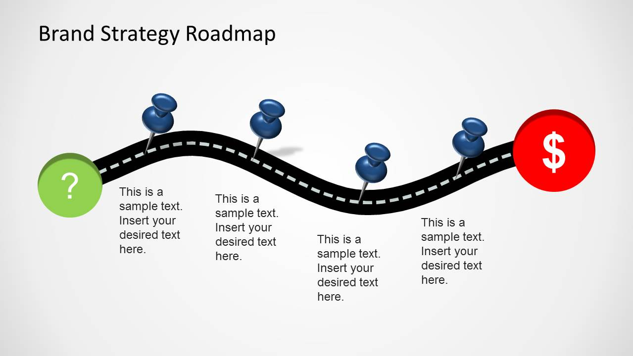 Brand strategy roadmap template for powerpoint slidemodel cheaphphosting Choice Image