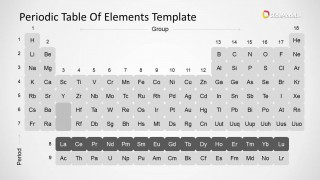Periodic table of elements powerpoint template slidemodel periodic table of elements powerpoint template is a presentation design template containing a periodic table of elements design created with shapes urtaz Choice Image