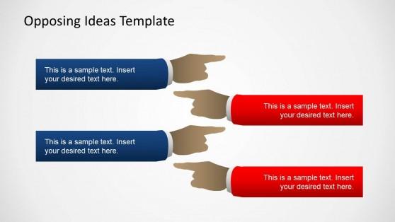 Opposing Views Powerpoint Templates