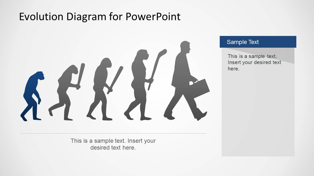 Evolution powerpoint template slidemodel evolution diagram for powerpoint previous next toneelgroepblik Gallery