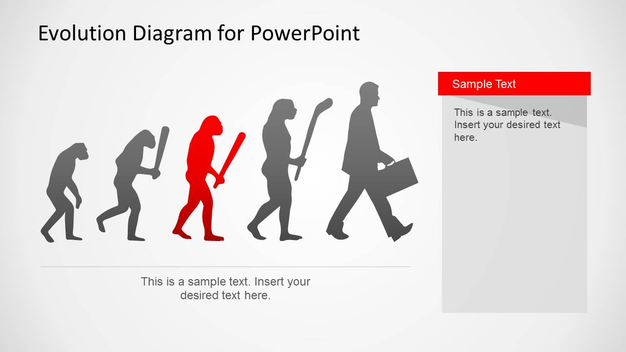Evolution powerpoint template slidemodel toneelgroepblik Image collections