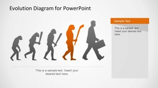 Evolution Diagram for PowerPoint